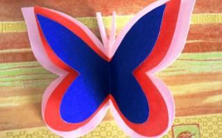 Как можно сделать из бумаги бабочку. Как сделать бабочку из бумаги