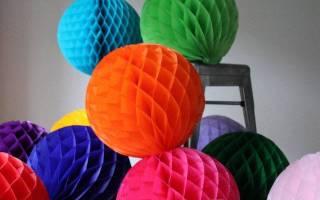 Как сделать китайский объемный шар из бумаги. Как сделать гирлянду из бумаги для принтера. Шары из ниток