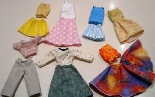Легкая одежда для барби своими руками. Описание построения чертежа. Винтажное платье для Барби