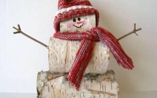 Из каких подручных средств можно сделать снеговика. Снеговик из бумаги (38 способов сделать своими руками)