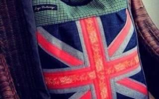 Выкройка спортивной сумки из старых джинсов. Джинсовые сумки своими руками. Фото и выкройки