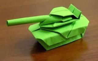 Как сделать танк из бумаги сложный. Как сделать танк из бумаги своими руками. Видео. Польза от самодеятельности