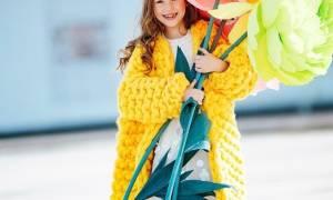 Как сделать большие цветы с листьями из гофрированной бумаги. Мастер-класс по изготовлению ростовых цветов из гофрированной бумаги