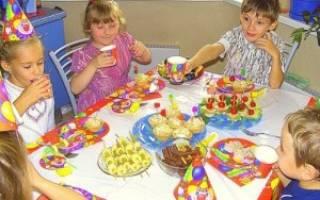 Как сделать детский день рождения. Как устроить веселый и интересный праздник для ребенка. А что у нас в меню