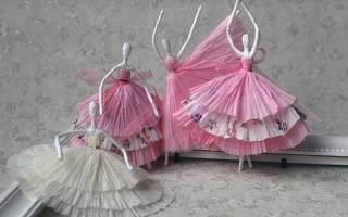Как сделать куклу из бумаги. Как сделать принцессу из бумаги