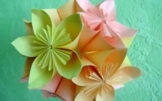 Шары из бумаги своими руками схемы оригами. Оригами кусудама: мастер классы знаменитых мастеров по изготовлению магических шаров. Кусудама цветочный шар «Колокольчики»