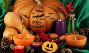 Шаблоны к хеллоуину своими руками. Фотогалерея: Поделка из тыквы с подсветкой на Хэллоуин. Украшение дома на Хэллоуин: головы мумий