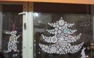 Как сделать елку из снежинок бумажных. Нужны ли самодельные украшения? Из какой бумаги вырезать снежинки