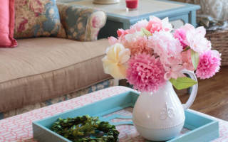 Поделка цветы (55 букетов своими руками). Мастер-класс: поделка из салфеток «Белый цветок