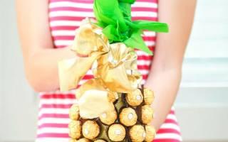 Ананас из бутылки. Как сделать ананас из конфет и шампанского своими руками. Как сделать ананас из фетра