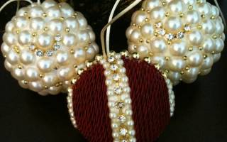 Шарик из картона. Новогодние шары своими руками: фейерверк блестящих идей