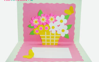 Объемная аппликация корзинка с цветами» из бумаги. Корзина из бумаги своими руками для цветов: схемы с фото и видео