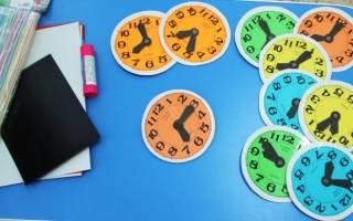 Как сделать часы из бумаги и картона. Как сделать макет часов для ребенка