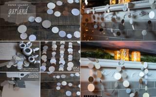 Как сделать елку в банке со снегом. #59 Новогодняя поделка бумажный шар «Омелы» своими руками. Оформление подарков – все необычное приятно