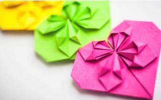 Как сделать объемное сердечко из бумаги. Объемные сердечки из бумаги своими руками