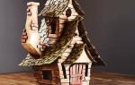Поделка дом многоэтажный. Поделка домик: мастер-класс как сделать декоративный домик своими руками (85 фото-идей)