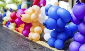 Животные из шара схема. Цветы и собаки из воздушных шаров. Как сделать собачку из шарика