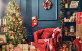 Как сделать красивые украшения на новый год. Яркий и эффектный новогодний декор дома или украшение квартиры к Новому году