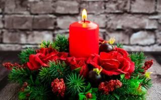 Новогодние цветы своими руками как сделать. Как сделать своими руками новогоднюю композицию