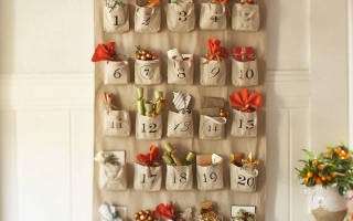 Адвент-календарь — что это? Как его сделать своими руками? Адвент календарь с заданиями для ребенка. Пример календаря своими руками