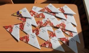 Красивые шаблоны к 9 мая. Полевое письмо – открытка ветеранам на День Победы своими руками