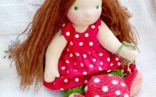 Вальдорфская кукла своими руками выкройка. Создание вальдорфской куклы по выкройке с описанием и размерами. Изготовление головы куклы-бабочки — фотогалерея