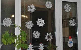 Вырезаем простые снежинки из бумаги шаблоны. Видео о том, как сделать объемные снежинки для украшения окон. Классический бумажный вариант