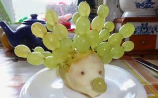 Поделка золотая рыбка из овощей и фруктов. Изготовление овощей и фруктов своими руками: мастер-класс