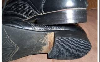 Как поменять набойки в домашних условиях. Ремонт обуви – набойка на каблук своими руками